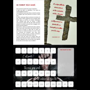 Calendrier de combat – Vaincre les liens du péché !
